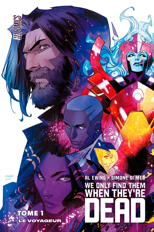 We only find them when they are dead T1 : Le voyageur (0), comics chez Hi Comics de Ewing, Di Meo
