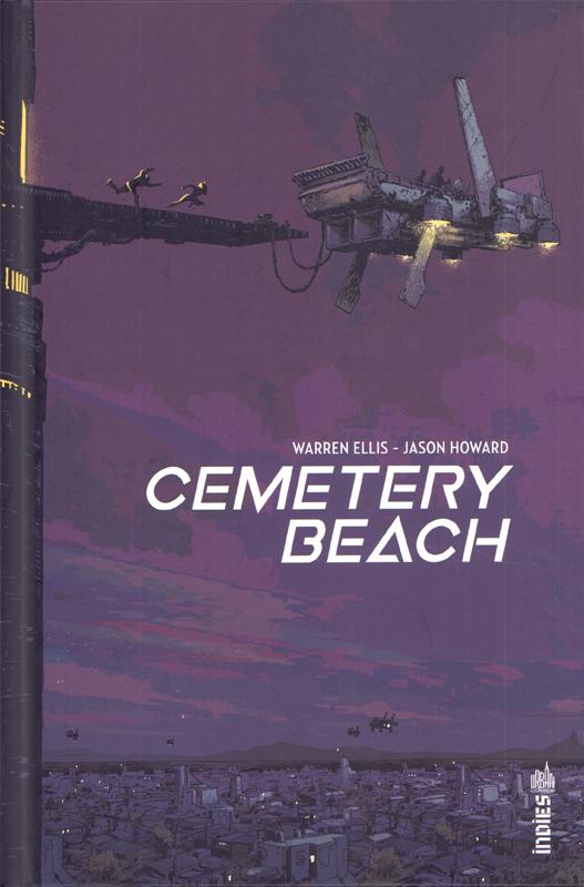 Cemetery beach, comics chez Urban Comics de Ellis, Howard