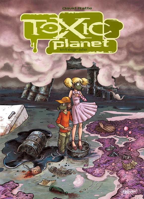 Toxic Planet, bd chez Paquet de Ratte