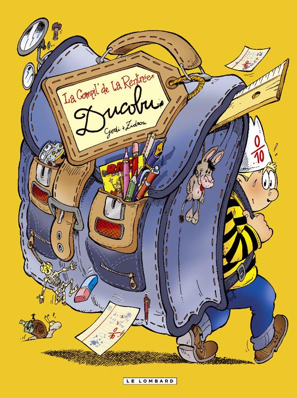 L'élève Ducobu : La compil de la rentrée (0), bd chez Le Lombard de Zidrou, Godi, Godi, Grobet