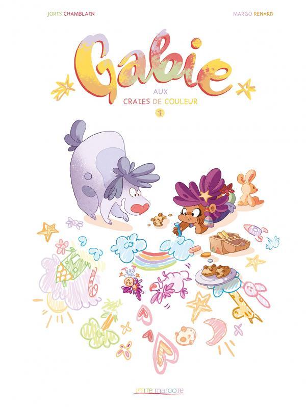 Gabie aux craies de couleur, bd chez Kennes éditions de Chamblain, Renard