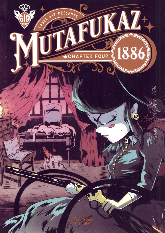 Mutafukaz 1886 T4, comics chez Ankama de Run, Hutt