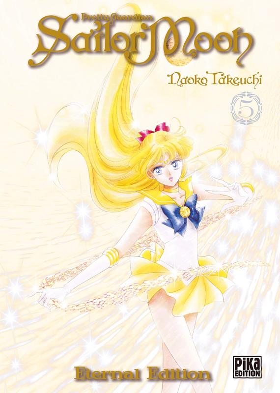 Sailor moon - Pretty guardian  – Eternal edition, T5, manga chez Pika de Takeuchi