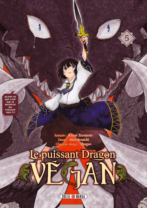 Le puissant dragon végan T5, manga chez Soleil de Enomoto, Muro