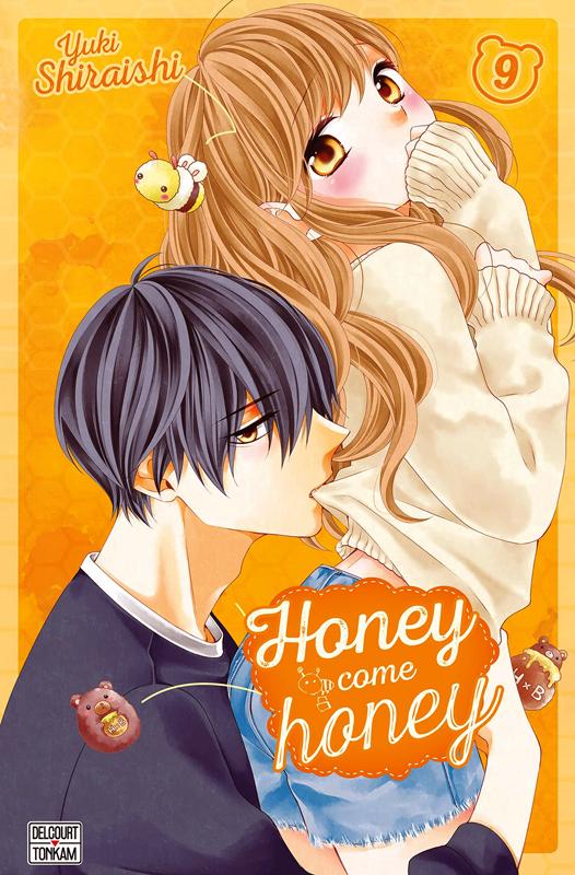 Honey come honey T9, manga chez Delcourt Tonkam de Shiraishi