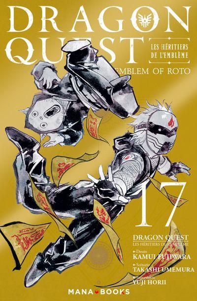 Dragon quest - Les héritiers de l'emblème T17, manga chez Mana Books de Eishima, Fujiwara