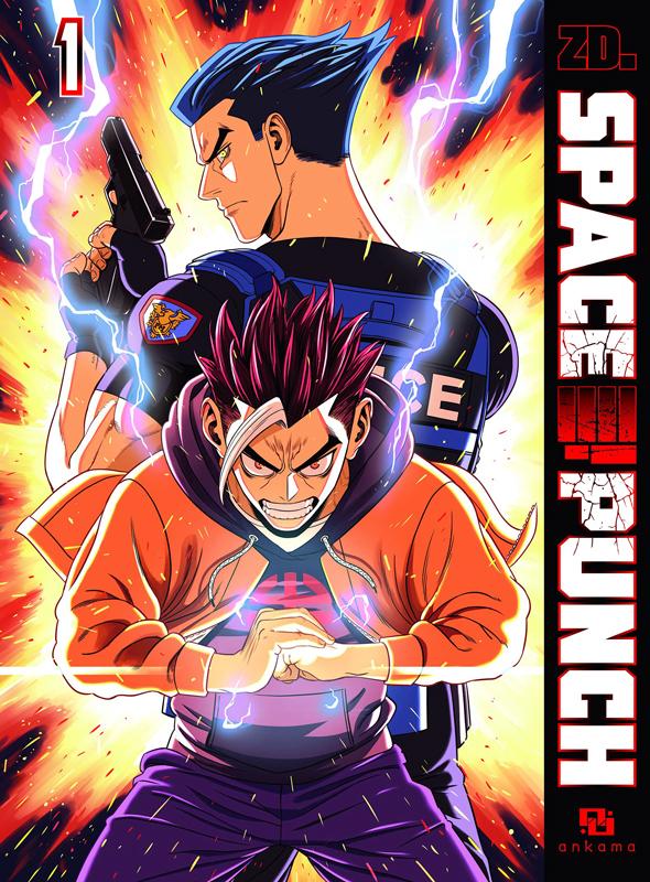 Space punch T1, manga chez Ankama de ZD. - Z.D Corp