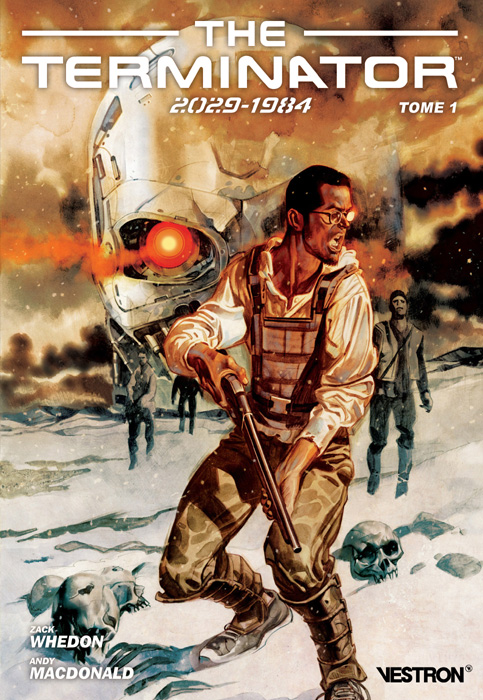 The Terminator 2029-1984 T1, comics chez Vestron de Whedon, Macdonald, Carnevale, Jackson