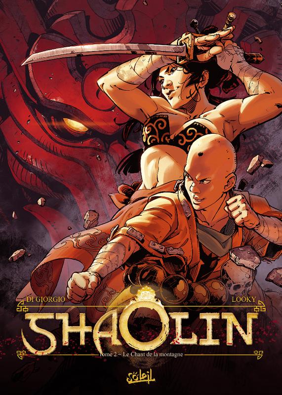 Shaolin T2 : Le Chant de la montagne (0), bd chez Soleil de Di Giorgio, Looky, Saponti