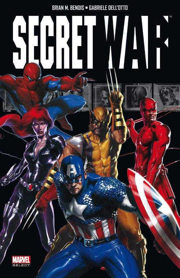Secret War, comics chez Panini Comics de Bendis, Dell'otto