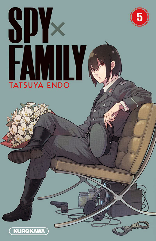 Spy X family T5, manga chez Kurokawa de Endo