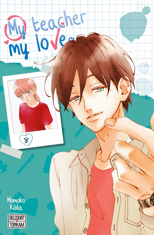 My teacher, my love T8, manga chez Delcourt Tonkam de Koda