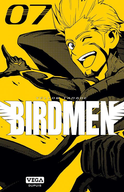 Birdmen T7, manga chez Dupuis de Tanabe