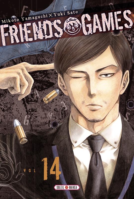Friends games  T14, manga chez Soleil de Yamaguti, Yûki