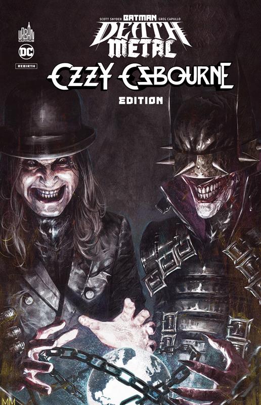 Batman Death Metal T7 : Ozzy Osbourne Edition (0), comics chez Urban Comics de Snyder, Capullo, FCO Plascencia, Mastrazzo