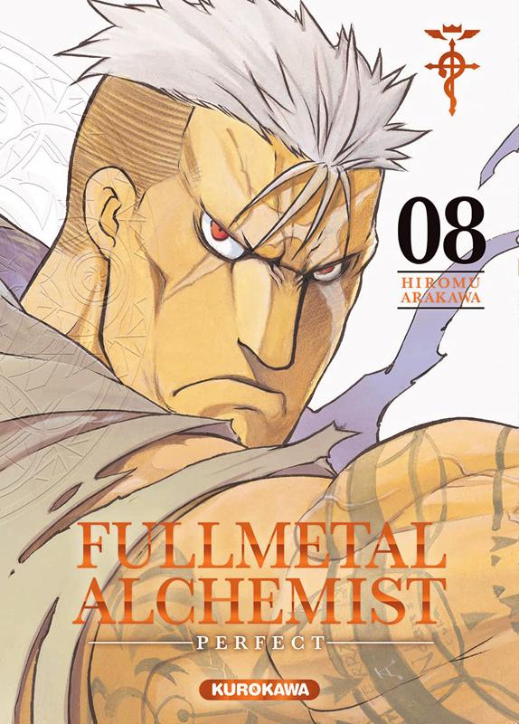 Fullmetal Alchemist – Perfect, T8, manga chez Kurokawa de Arakawa