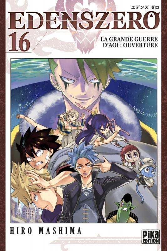 Edens zero T16, manga chez Pika de Mashima