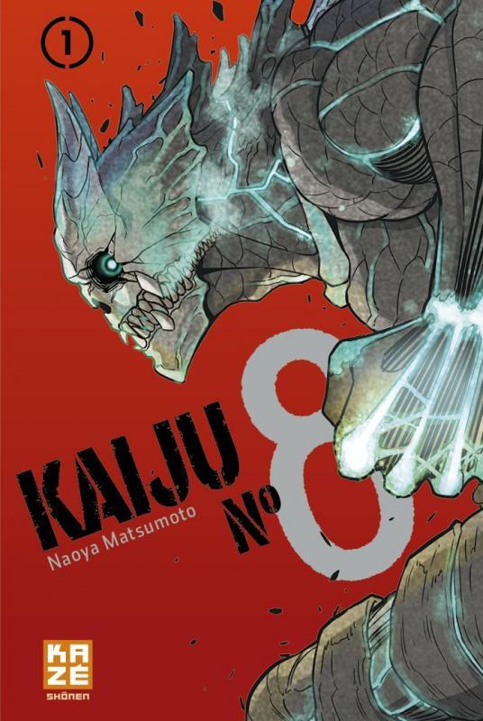 Kaijû N°8  T1, manga chez Kazé manga de Matsumoto