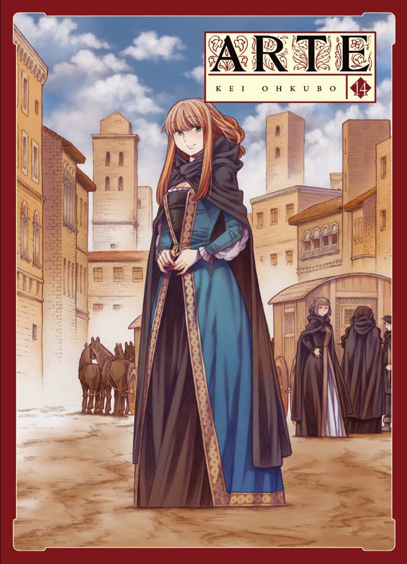 Arte T14, manga chez Komikku éditions de Ohkubo