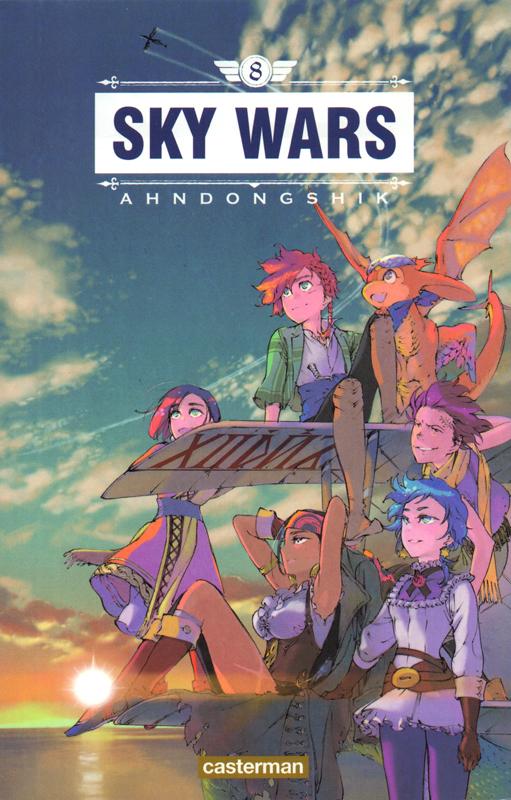 Sky wars T8, manga chez Casterman de Dongshik