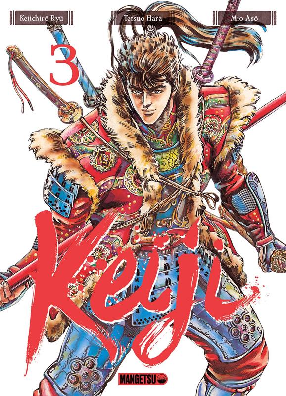 Keiji T3, manga chez Mangetsu de Ryû, Hara