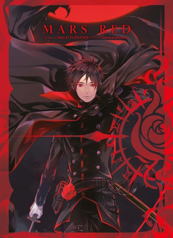 Mars Red T1, manga chez Panini Comics de Fujisawa, Karakara