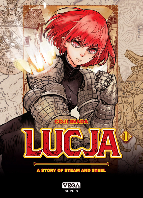 Lucja T1, manga chez Dupuis de Kôji