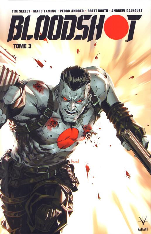Bloodshot T3, comics chez Bliss Comics de Seeley, Potter, Juan Jose Ryp, Laming, Booth, Andreo, Masters, Dalhouse, Arreola, De La Torre