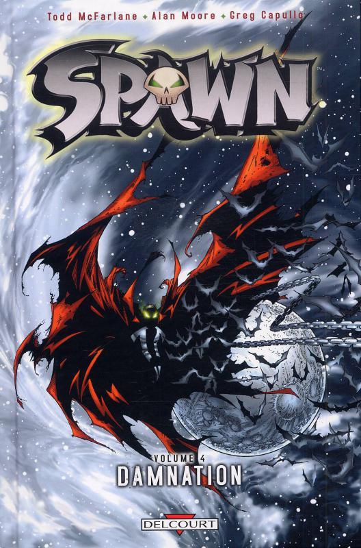 Spawn – Archives, T4 : Damnation (1), comics chez Delcourt de Moore, McFarlane, Daniel, Capullo, Haberlin, Oliff