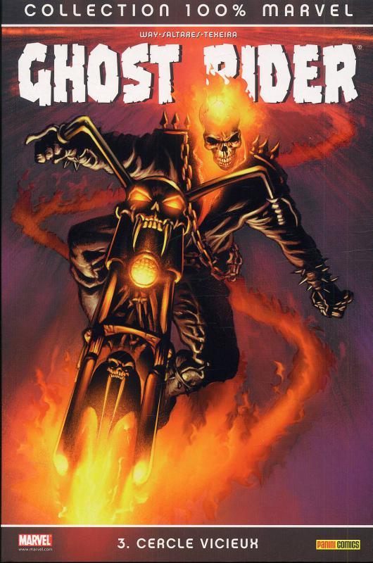 Ghost Rider T3 : Cercle vicieux (0), comics chez Panini Comics de Way, Texeira, Saltares, Brown