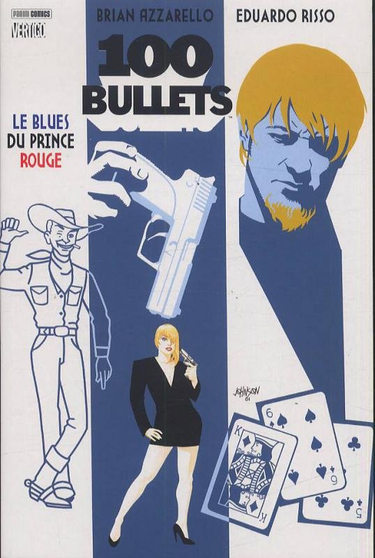 100 Bullets – Edition Softcover, T5 : Le blues du prince rouge (0), comics chez Panini Comics de Azzarello, Risso, Mulvihill, Johnson