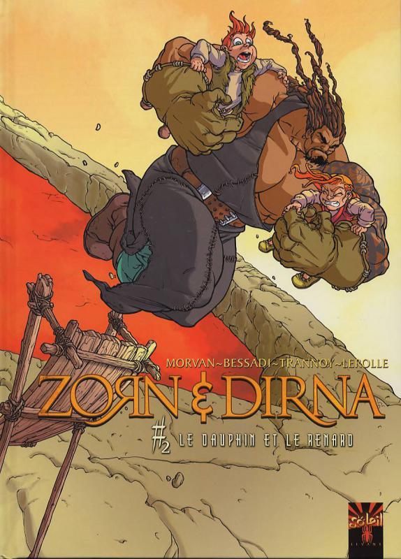 Zorn et Dirna T2 : Le dauphin et le renard (0), bd chez Soleil de Morvan, Trannoy, Bessadi, Lerolle