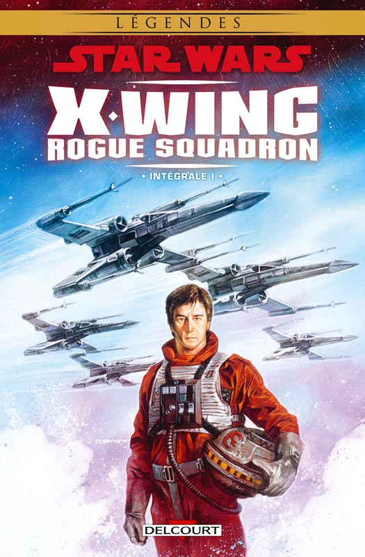 Star Wars - X-Wing Rogue Squadron T1, comics chez Delcourt de Macan, Williams, Blackman, Baron, Barr, Stackpole, Erskine, Buikovic, Nadeau, Giorello, Ninus, Lacombe, Glass, Atiyeh, David, Borman
