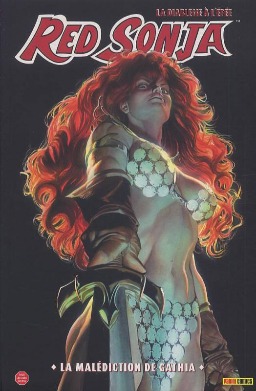 Red Sonja T1 : La malédiction de Gathia (0), comics chez Panini Comics de Carey, Oeming, Rubi, Isanove, Rodriguez