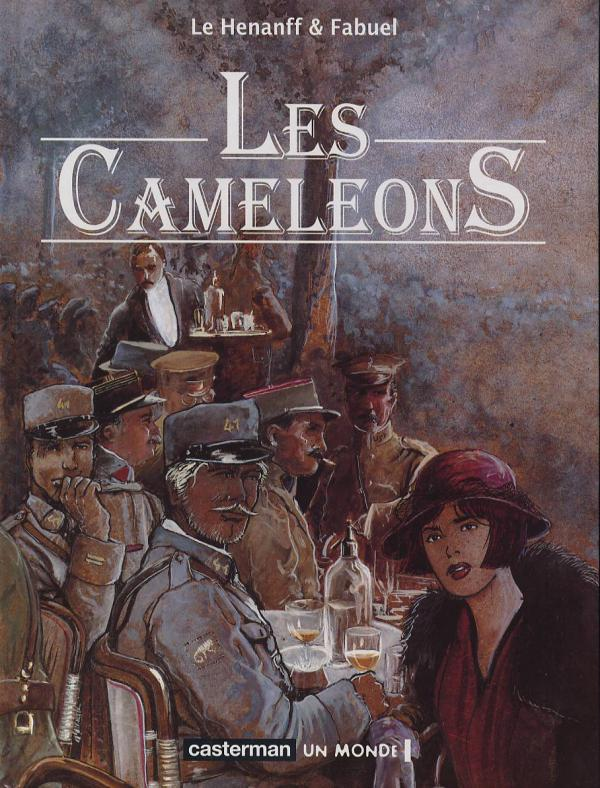 Les caméléons, bd chez Casterman de Fabuel, Le Hénanff