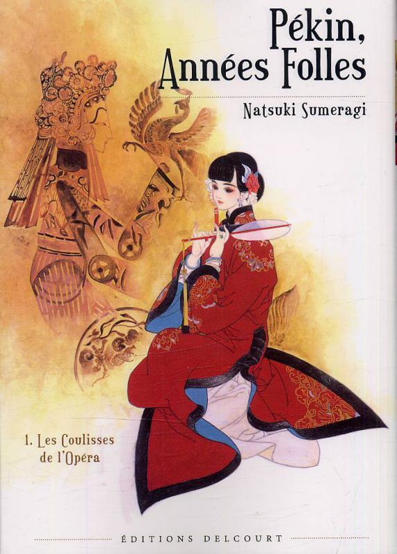 Pékin, années folles  T1, manga chez Delcourt de Sumeragi