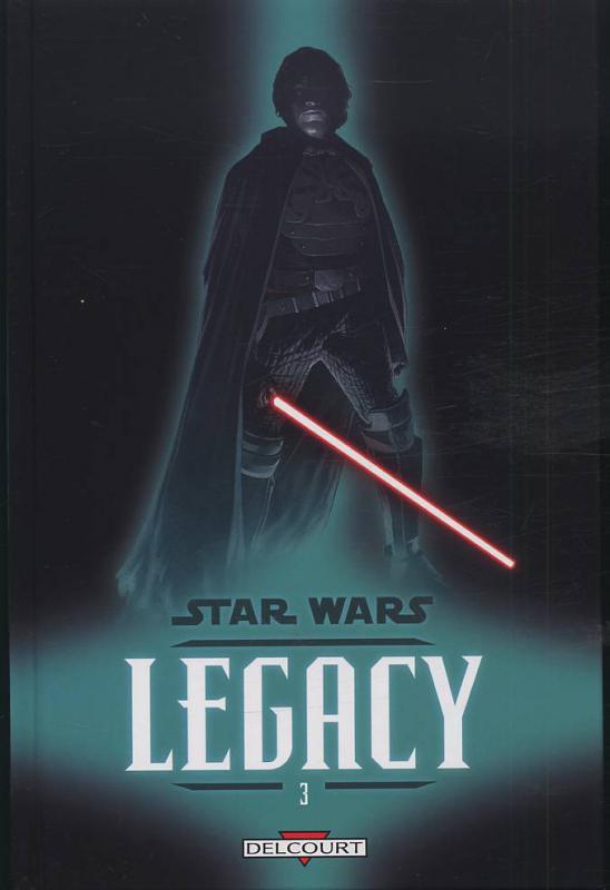 Star Wars Legacy – Legacy, T3 : Les griffes du dragon (0), comics chez Delcourt de Ostrander, Duursema, Anderson