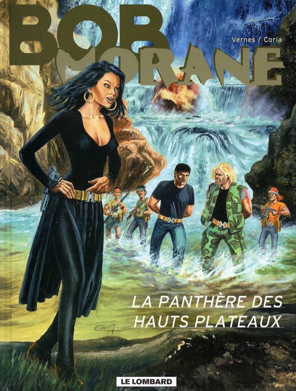 Bob Morane T39 : La panthère des hauts plateaux (0), bd chez Le Lombard de Vernes, Coria