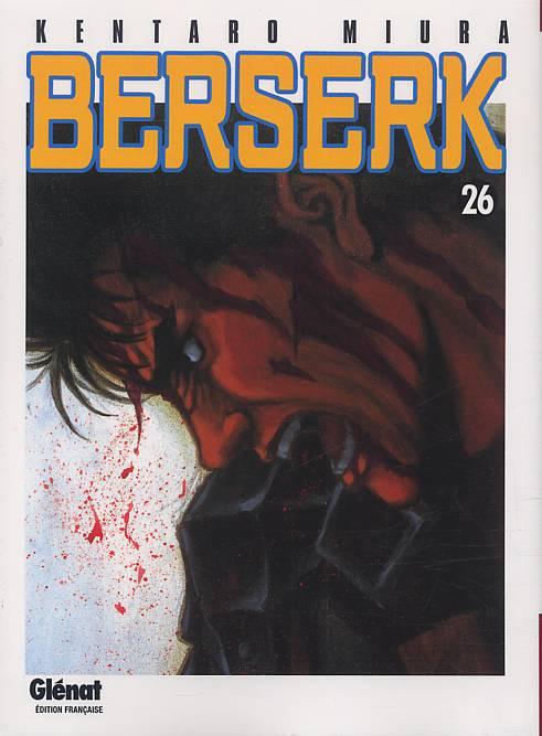 Berserk T26, manga chez Glénat de Miura