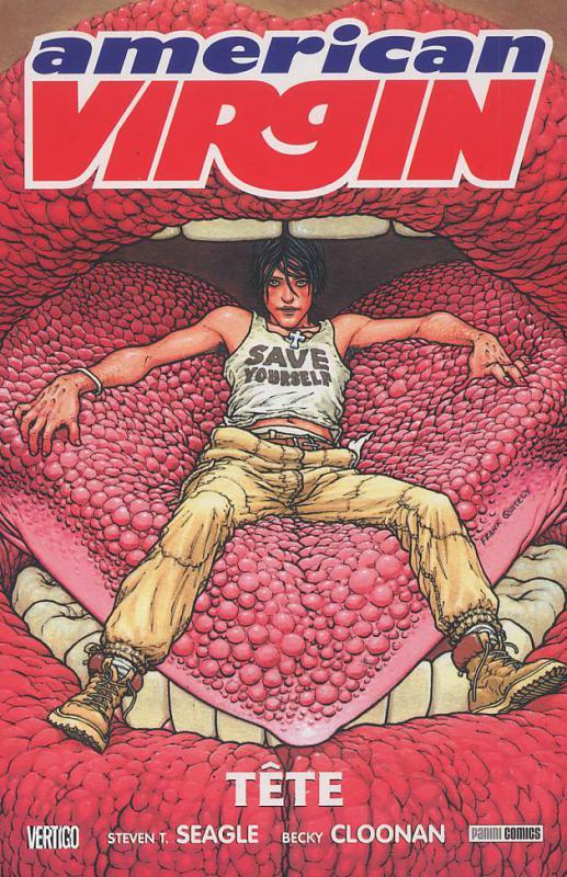 American Virgin T1 : Tête (0), comics chez Panini Comics de Seagle, Becky Cloonan, Miller, Quitely, Kelly