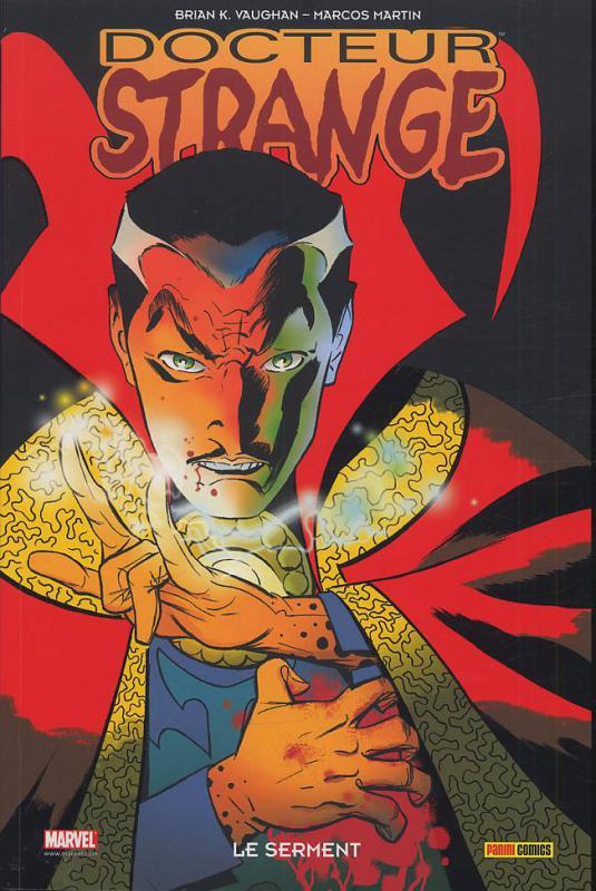 Docteur Strange : Le serment (0), comics chez Panini Comics de Vaughan, Martin, Rodriguez
