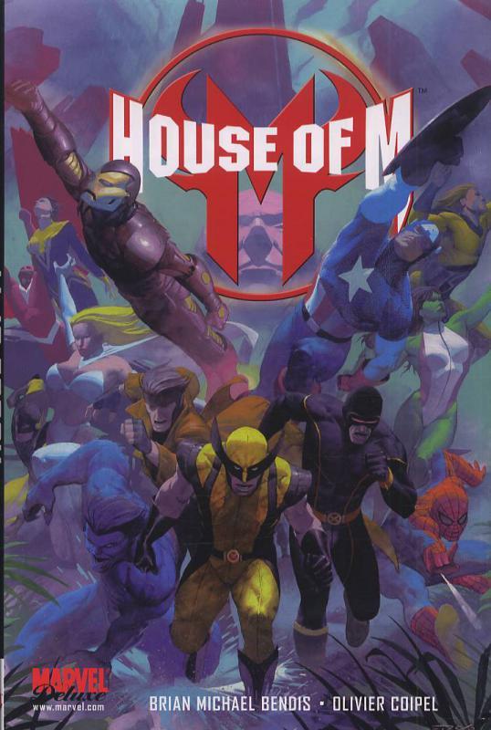 House of M, comics chez Panini Comics de Bendis, Coipel, d' Armata, Ribic