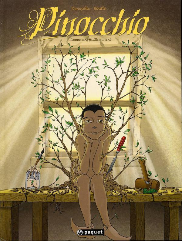 Pinocchio T1 : Comme une feuille au vent (0), bd chez Paquet de Boutle, Denoyelle