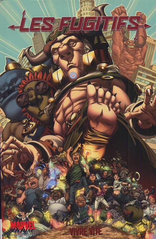Les fugitifs – cycle Marvel Deluxe, T2 : Vivre vite (0), comics chez Panini Comics de Vaughan, Alphona, Norton, Strain