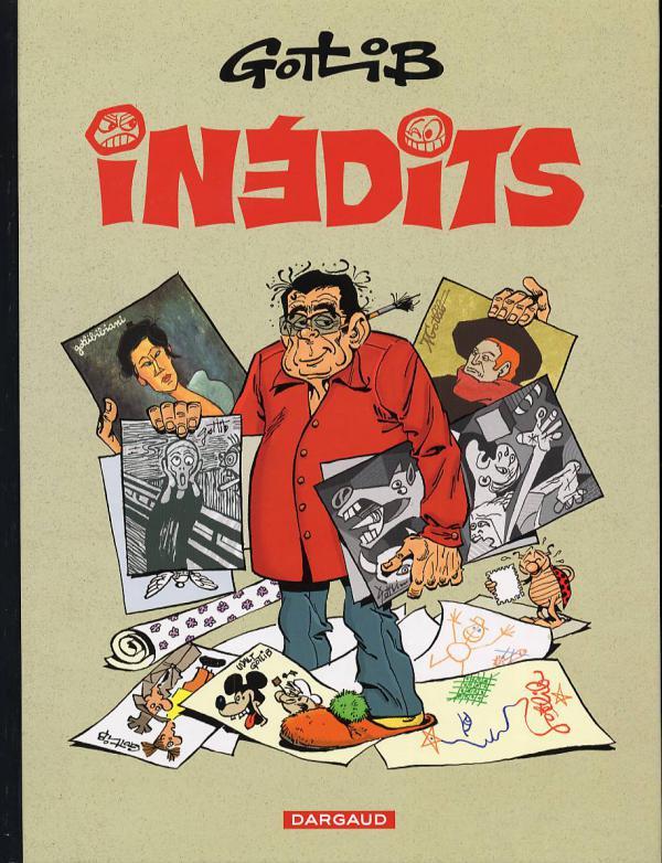 Inédits : Les inédits de Gotlib (0), bd chez Dargaud de Gotlib