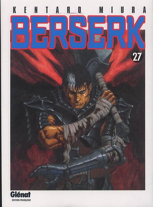 Berserk T27, manga chez Glénat de Miura