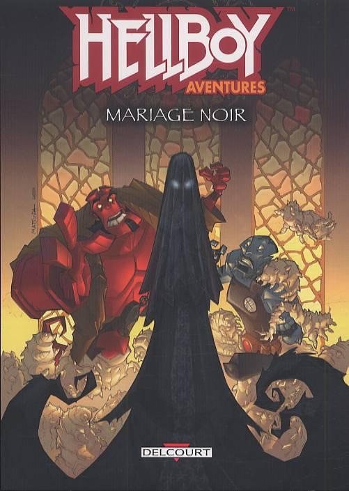 Hellboy aventures T1 : Mariage noir (0), comics chez Delcourt de Pascoe, Lacy, Jackson, Powell