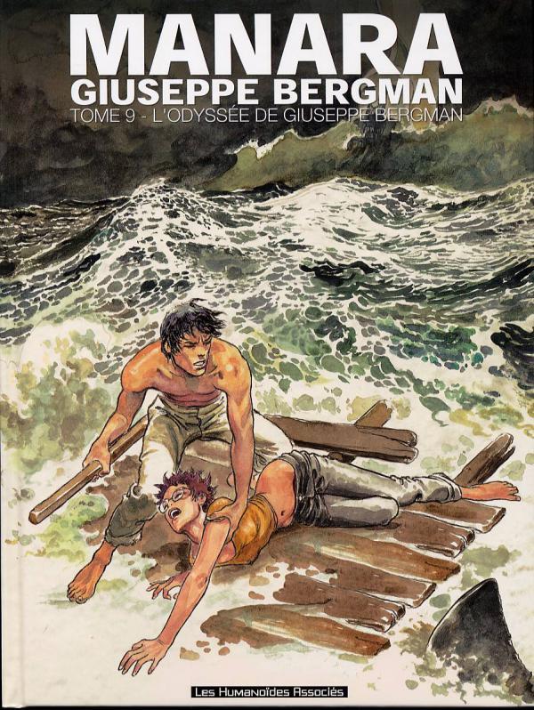 Giuseppe Bergman T9 : L'odyssée de Giuseppe Bergman (0), bd chez Les Humanoïdes Associés de Manara