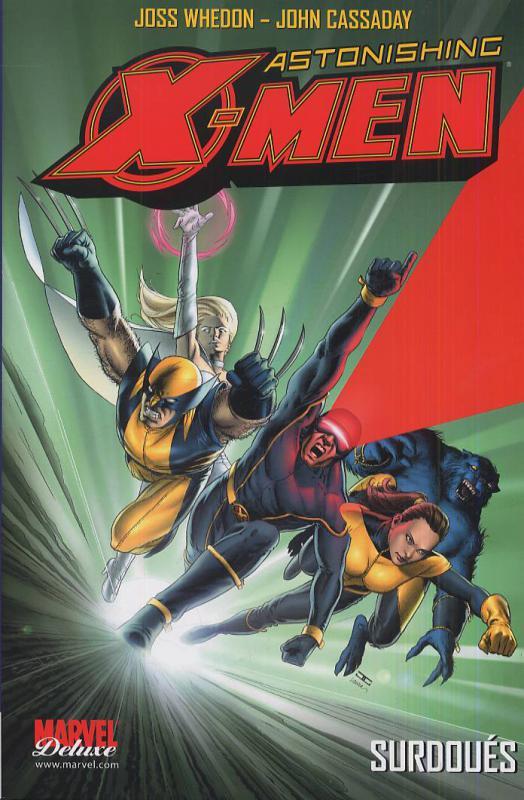 Astonishing X-Men T1 : Surdoués (0), comics chez Panini Comics de Whedon, Cassaday, Martin