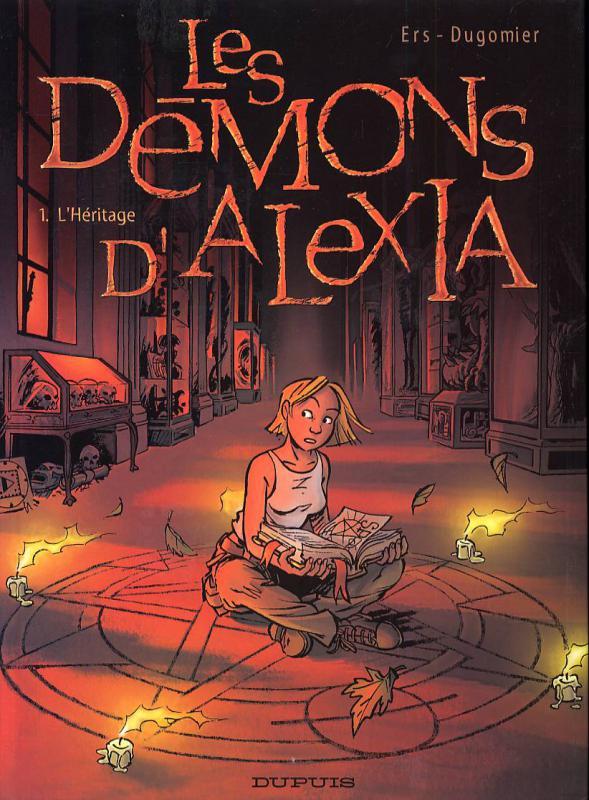 Les démons d'Alexia T1 : L'héritage (0), bd chez Dupuis de Dugomier, Ers, Smulkowski